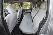 2017 Honda Ridgeline rear interior seats folded 02