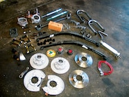 This is the solid-axle swap kit from Marlin Crawler  We liked the