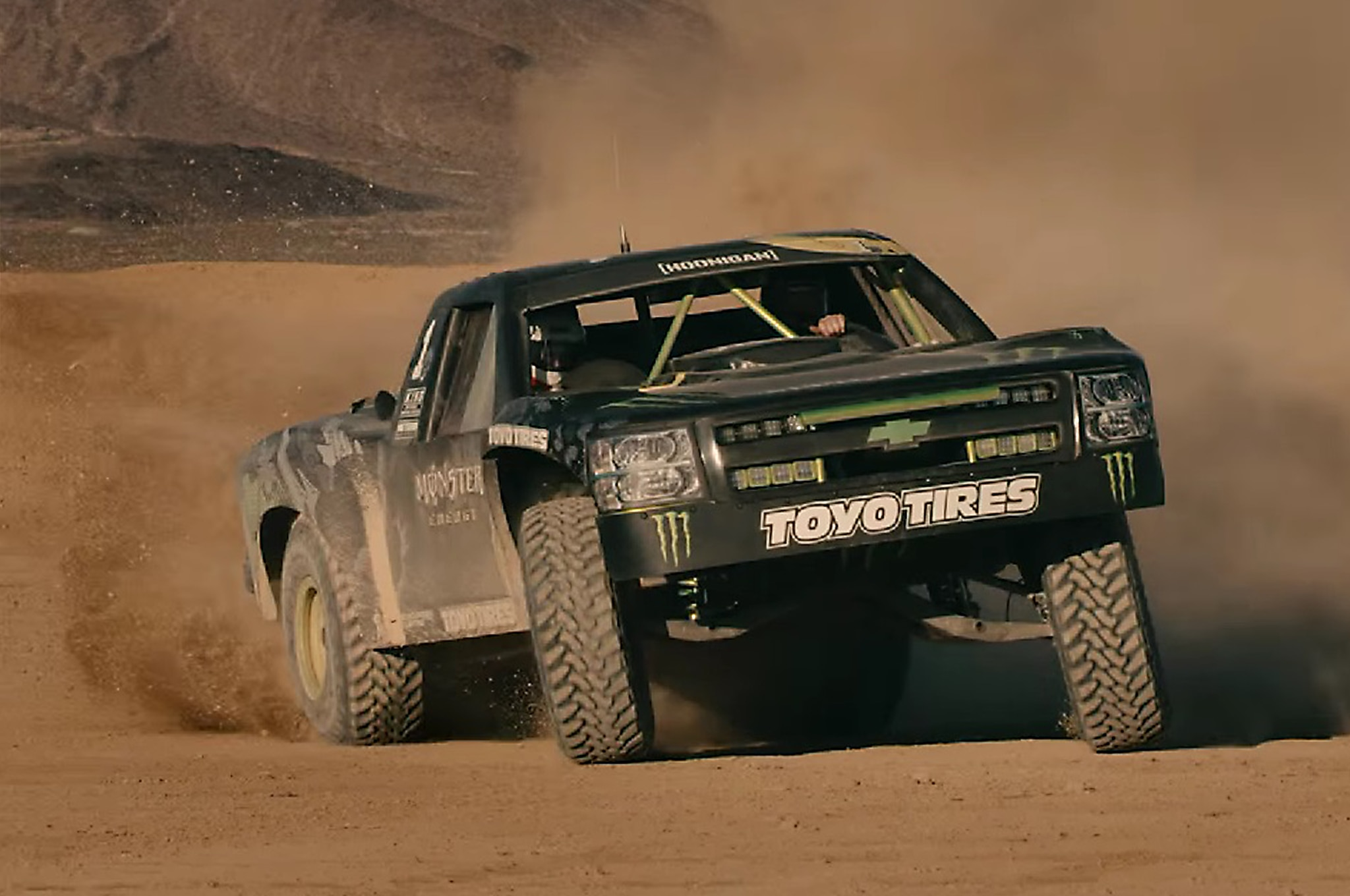 "Win a Trip to Ride in a Trophy Truck With ""Ballistic"" BJ Baldwin"