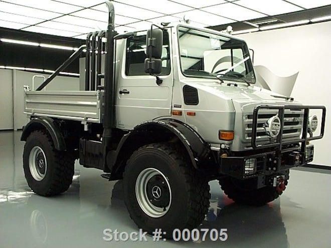 Attention Powerball Winners: Arnold Schwarzenegger's Unimog for Sale