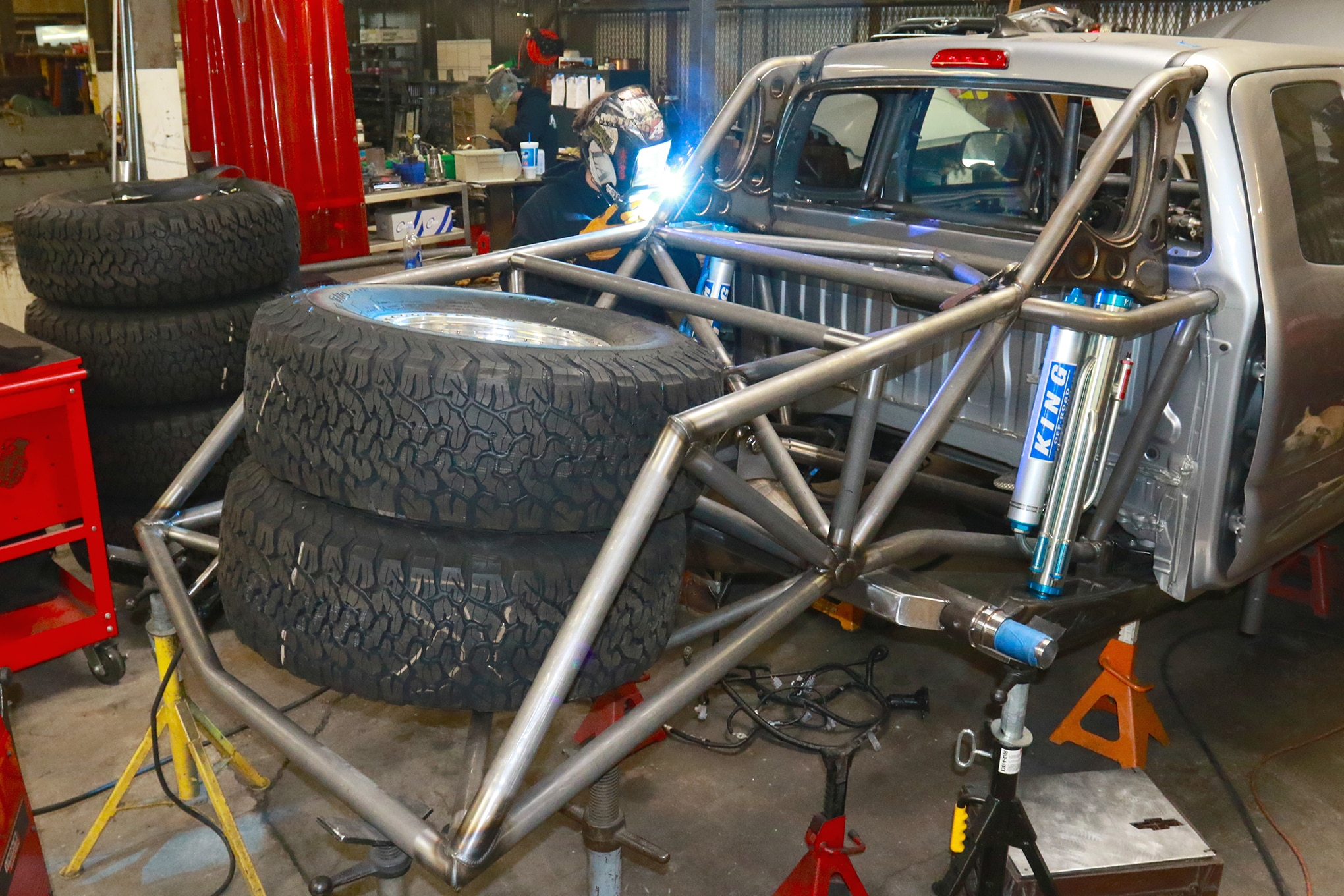 A Stick By Stick Build Of A True Long Travel Prerunner Rear Suspension