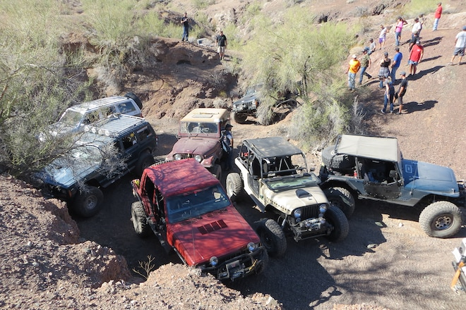 Parker Four Wheelers Lead Jeepers Through Wilds of Arizona