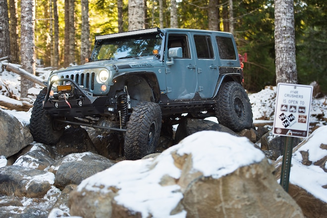 Hemi-Power Jeep JK For Oregon Adventures