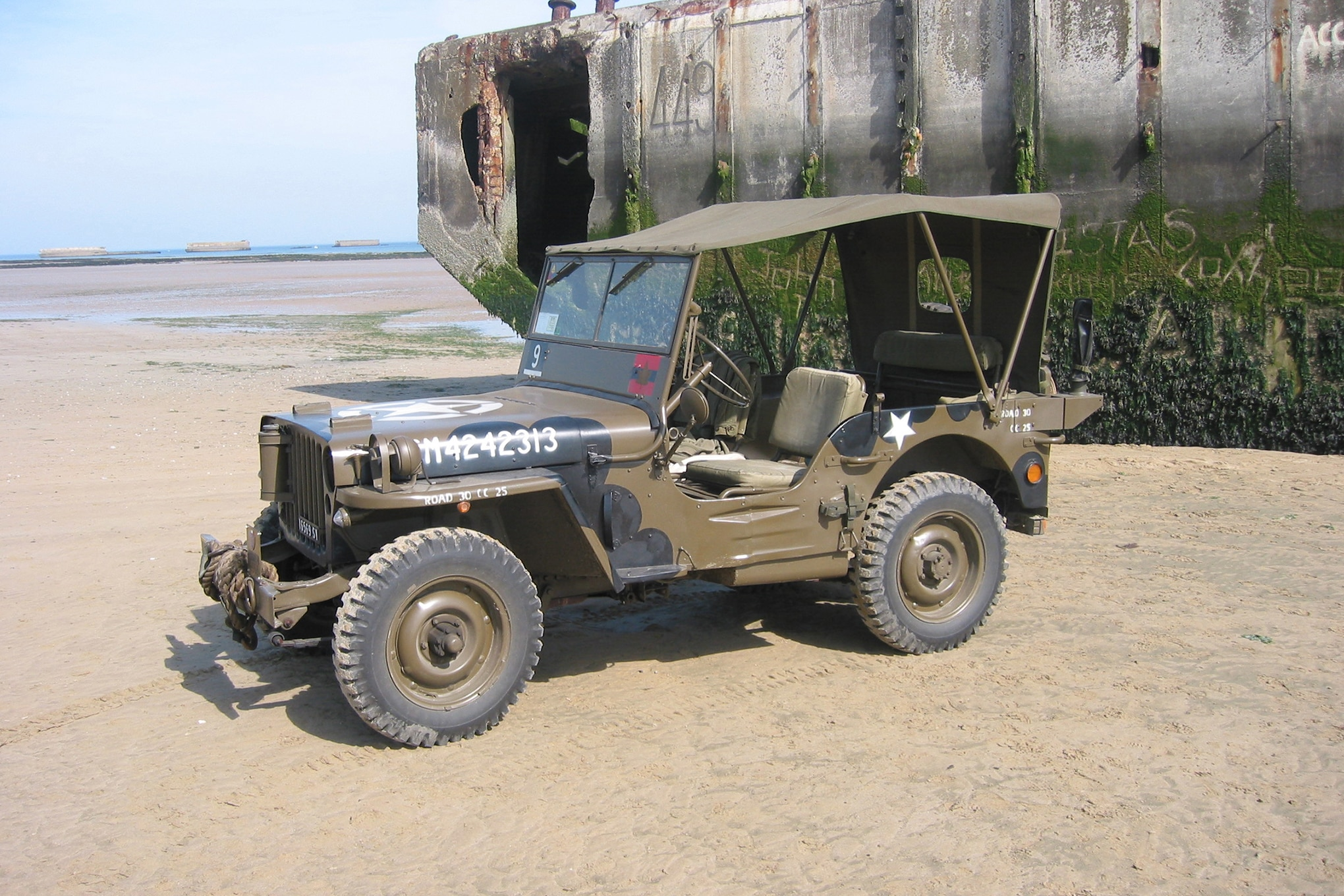 016 jeep 1943 normandy
