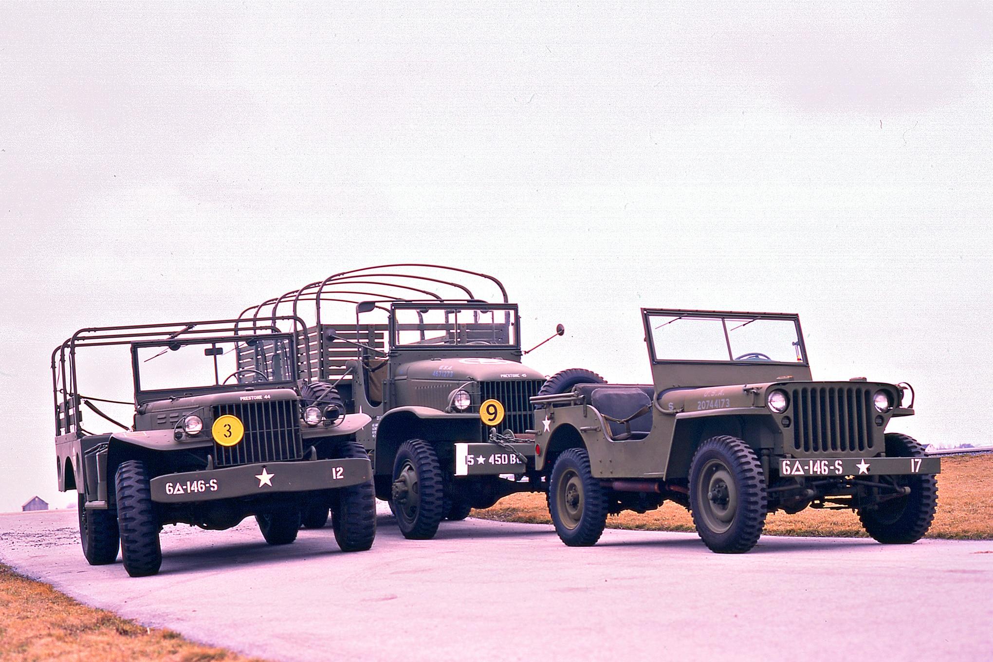 001 WWII heroes jeep dodge gmc group
