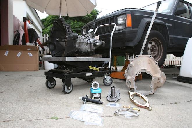 Jeep Cherokee XJ Slave Cylinder Upgrade