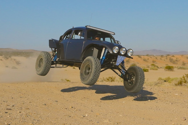 A German Car With A Japanese Engine That's Built For Baja