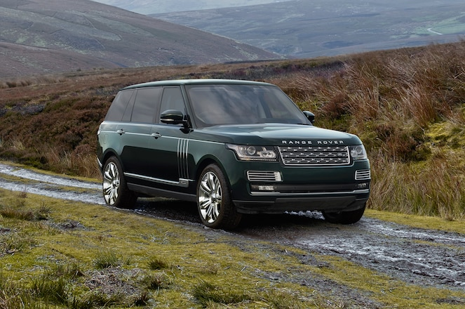 Range Rover and Holland & Holland Team Up Again