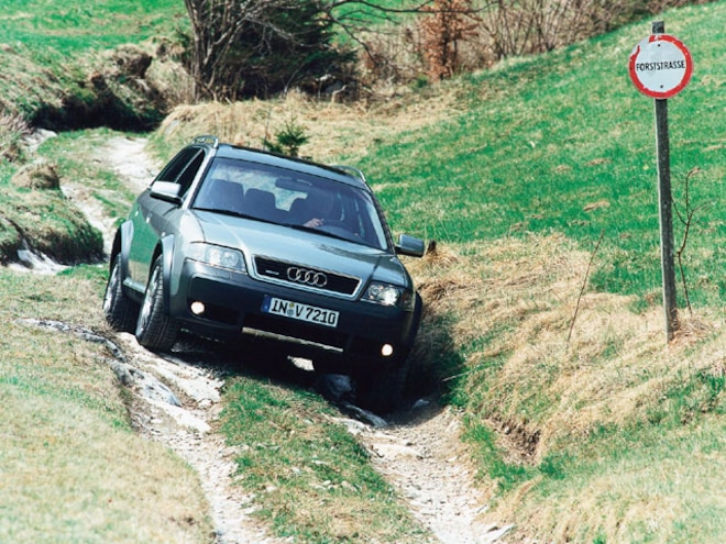2001 Audi Allroad - Backcountry Tested