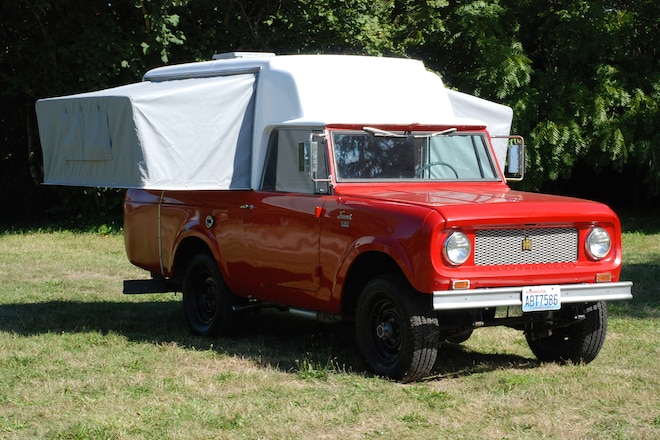 1963 Scout Camper - Camping on All Four