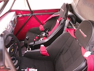 MasterCraft race seats and five-point Crow harnesses keep