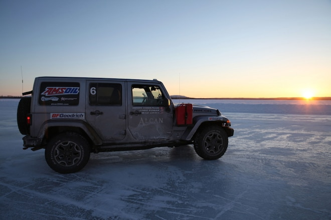 5,000 Frozen Miles In A Jeep: Day 2 & 3