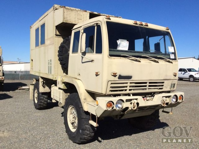 Fredslist Find: 1994 Stewart Stevenson Mega Military Motorhome