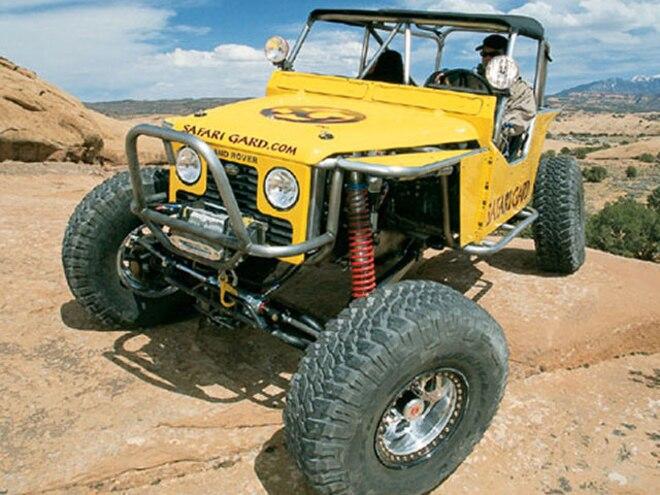 1995 Defender 90 - On Safari