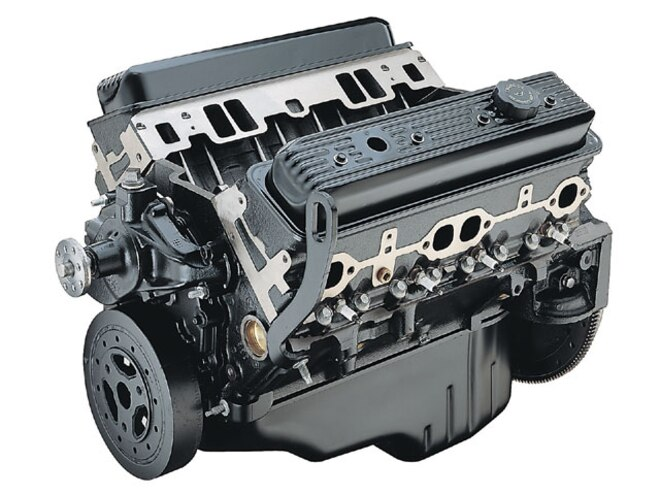 Marine Chevy 350 Small Block Engine - Engines We'd Like to See More Of