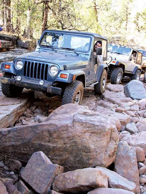 pyeatt Draw Payson Arizona Off Road jeep Wrangler Tj Photo 9969343