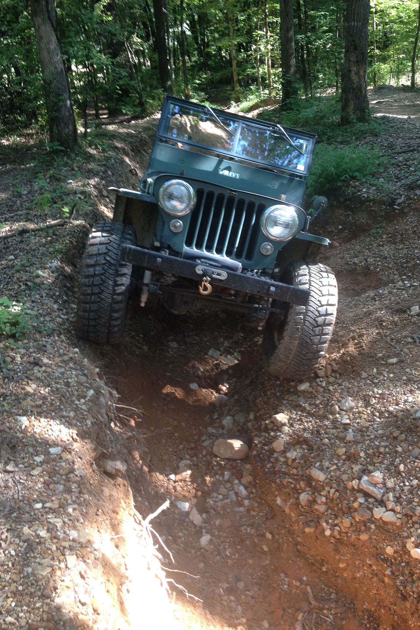 005 jeep willys flatfender cj early vintage old iron