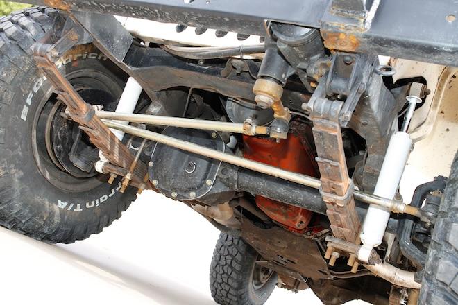 Headed Straight: CJ5 Power Steering & Axle Upgrade