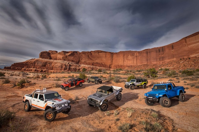 New Jeep Concepts for 2019