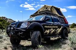 Nissan Brings Budget-Friendly Destination Frontier Concept to Overland Adventure West