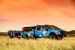 Nissan Builds Ultimate Parks Titan For National Park Foundation