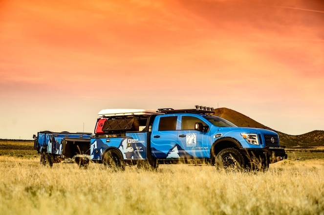 Nissan Builds Ultimate Parks Titan For National Park Foundation