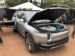 Rivian Brings R1T to Overland Expo West
