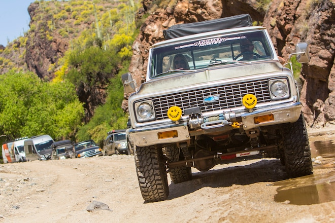 2019 Overland Adventure: Day 2, Into The Canyon And Through The Wash #overlandadventure19