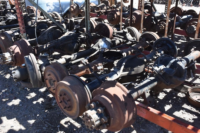 Identify Popular 4x4 Junkyard Axles
