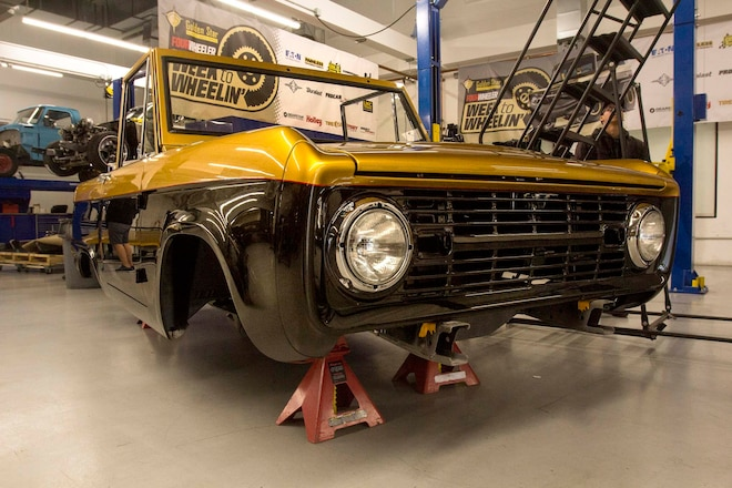 Week to Wheelin' Vintage Bronco Build: Day 1 – Wheels, Tires, Suspension, and More!
