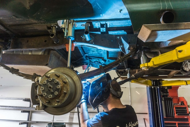 Adding Bypass Shocks to Our Solid-Axle F-150