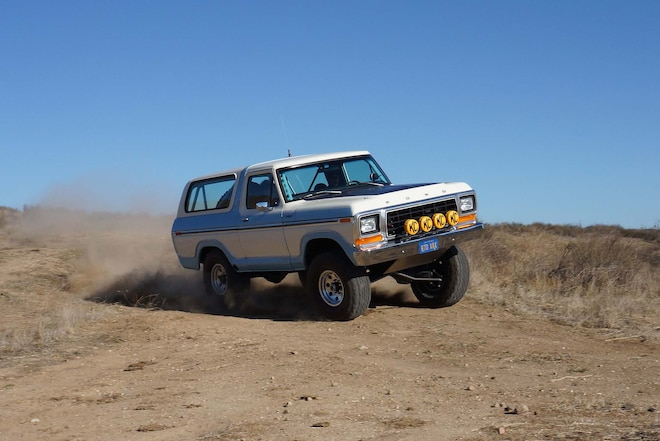 An IFS-Converted Fullsize 1979 Bronco Set Up to Daily Drive and Prerun