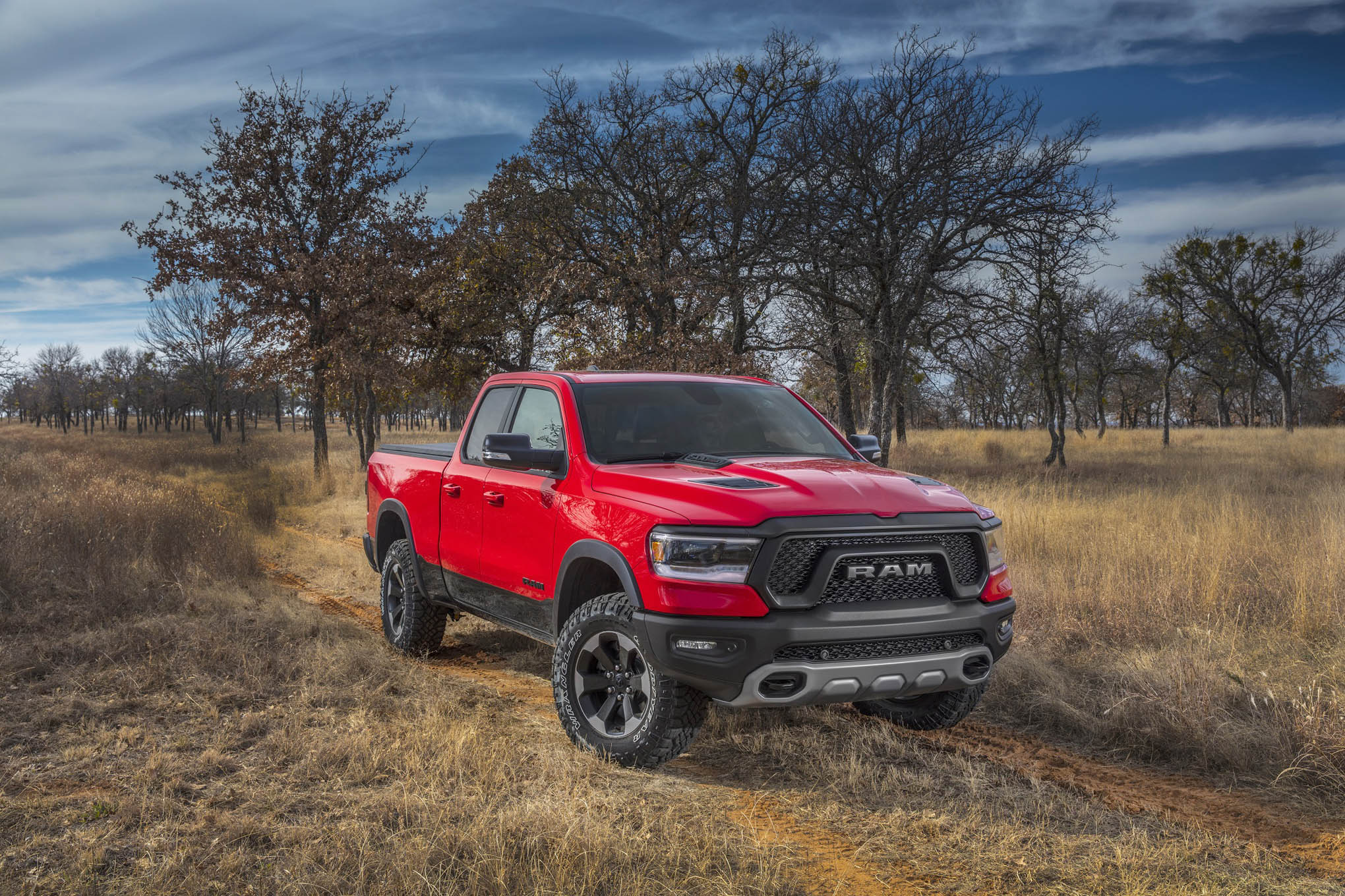 017 ecodiesel powered 2020 ram rebel front view