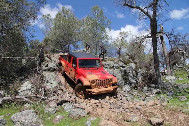 Driving the New Jeep Gladiator