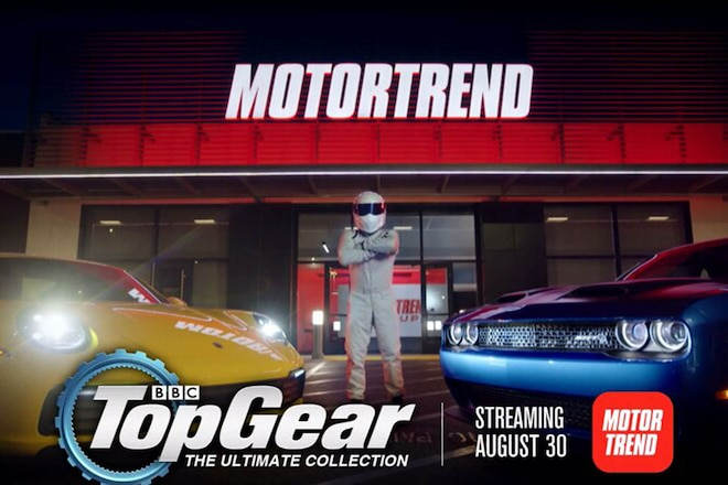 Five Great Top Gear Episodes you Should Watch on the Motor Trend App starting Aug 30!!