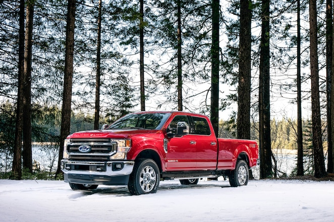 2020 Ford Super Duty:  475 Horsepower and 1,050 lb-ft of Torque