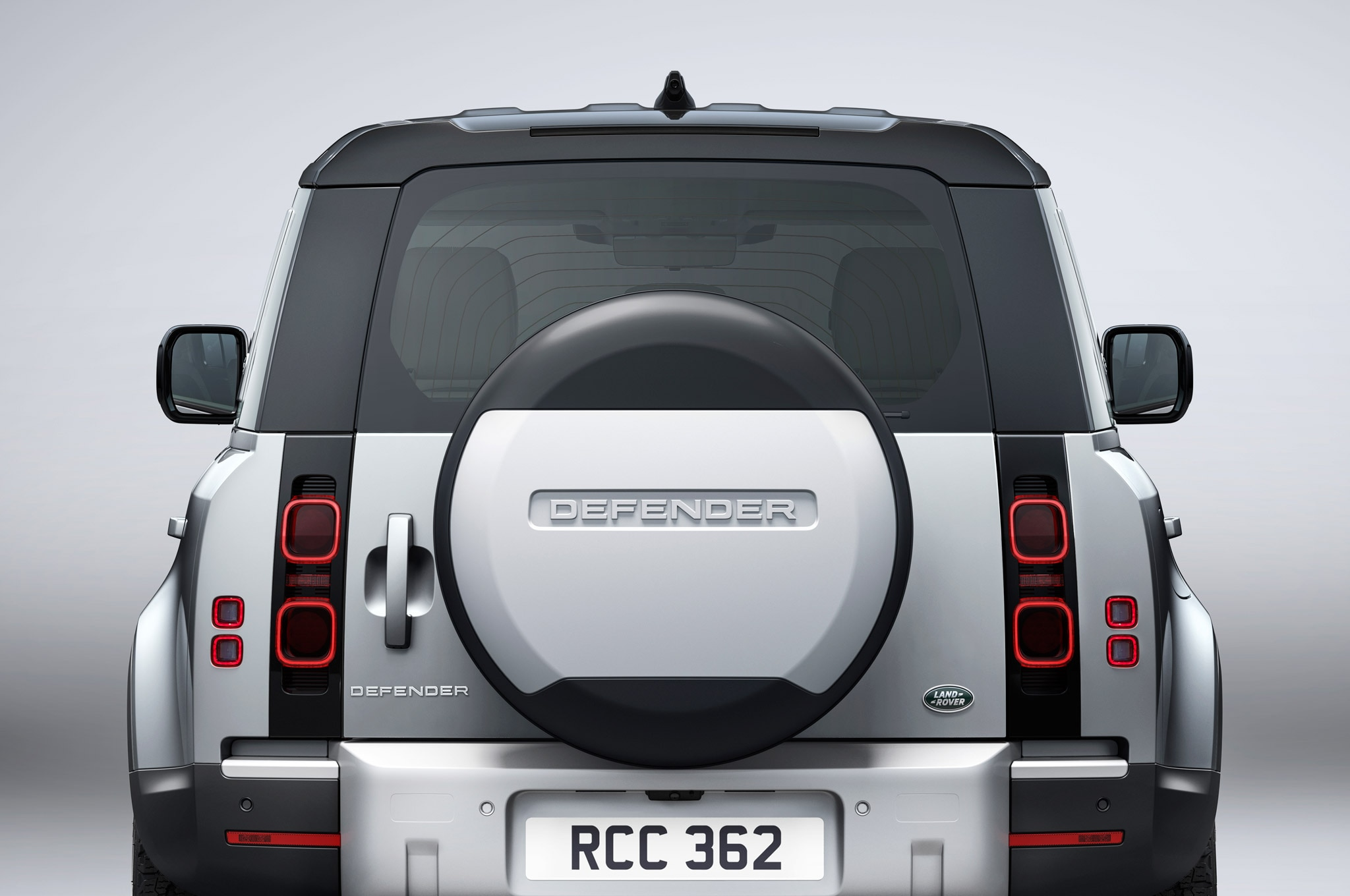 2020 land rover defender 110 exterior rear view