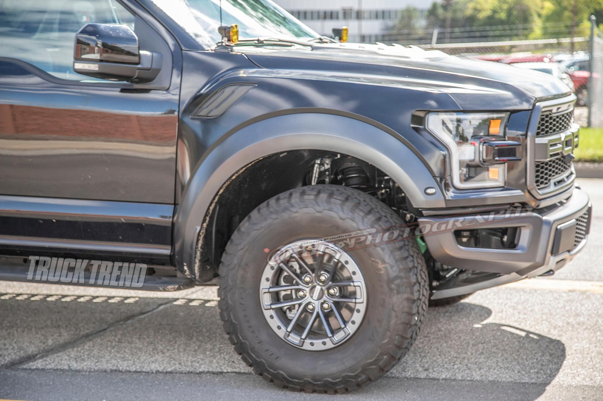 2021 ford f 150 raptor exterior front wheel