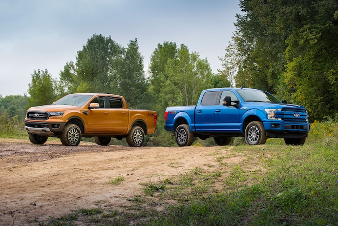 Ford Performance Offers First Ever Off-Road Leveling Kits for Ranger and F-150