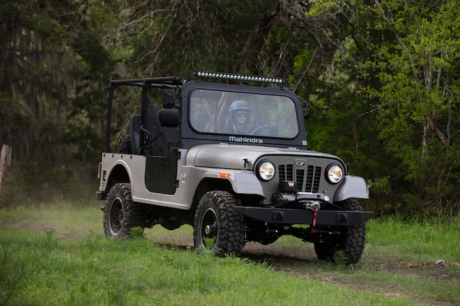 Mahindra Donates ROXOR Off-Road Vehicles to Hurricane Dorian Relief Efforts