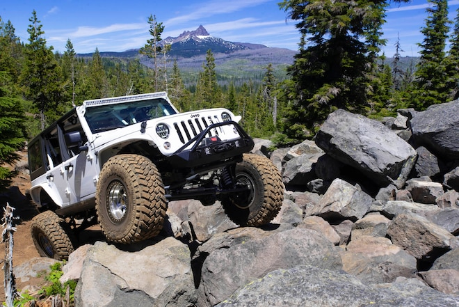 "LS-powered ""Limitless"" 2014 JK Arose from the Scrapyard"