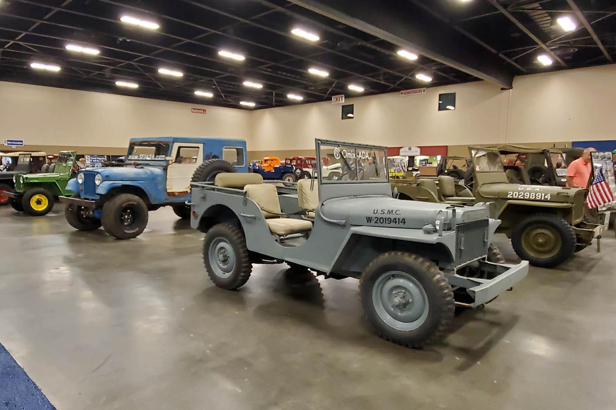 008 toledo jeep fest seagate vintage