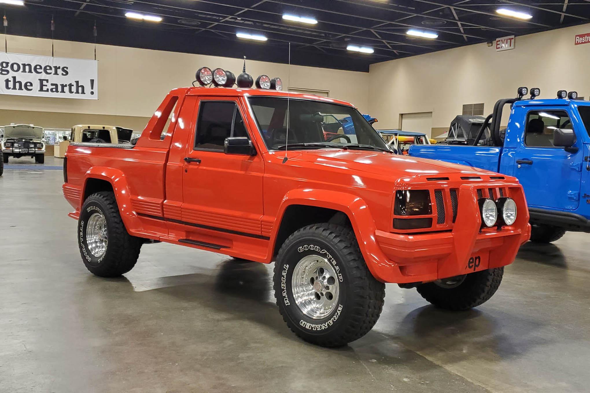 011 toledo jeep fest seagate thunder comanche concept