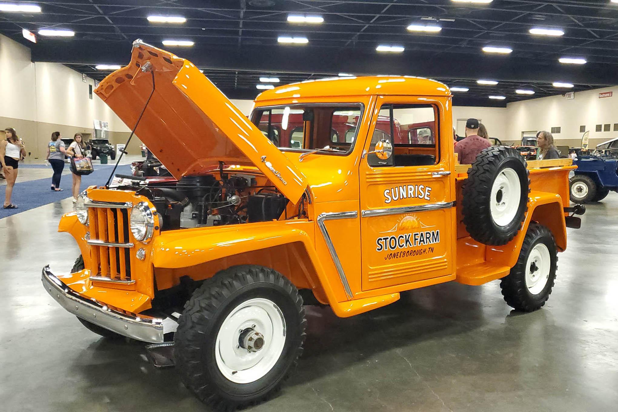 014 toledo jeep fest seagate willys truck