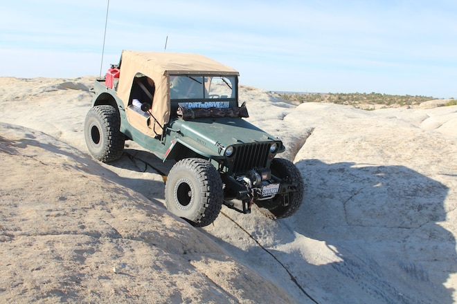 Stretched 1942 Willys MB Custom