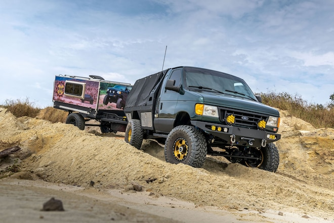 The Ultimate Ford E-350: A Van Evolution 8 Years in the Making