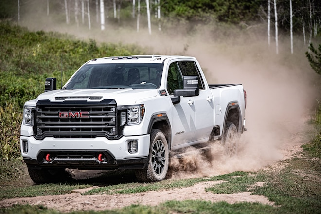 "GMC Debuts Industry ""First"" Features And Adds A New 4x4 Model To Its 2020 Heavy-Duty Pickup Offerings"