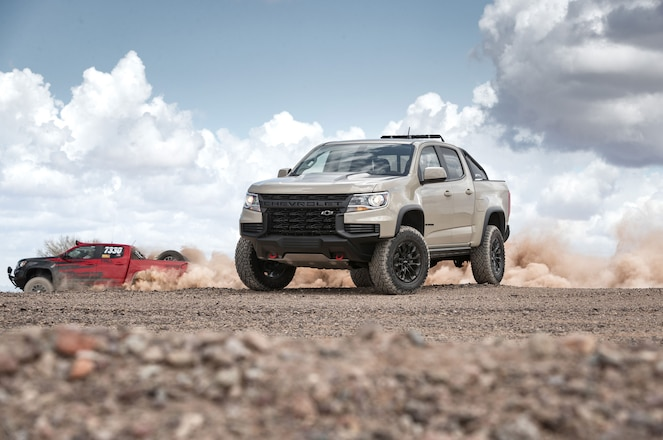 Chevrolet Applies Miniscule Changes to 2021 Colorado ZR2