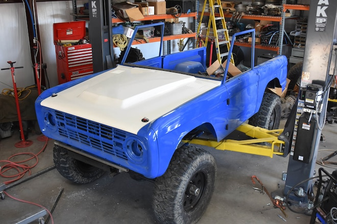 Our Bronco Project Drags On