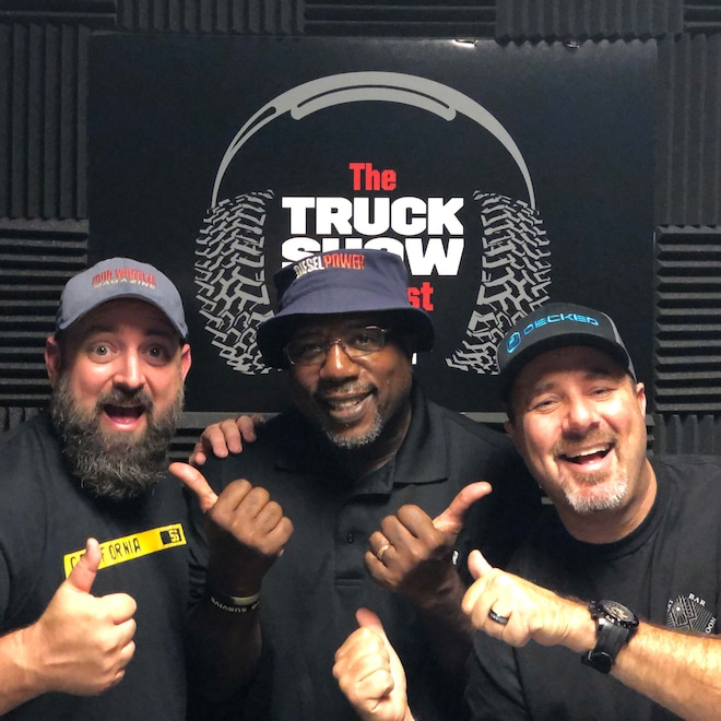 Episode 88 of The Truck Show Podcast: The Emissionsisode with PPEi, ATS, Diesel Power, and SEMA